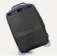 Стильный городской рюкзак Tigernu T-B3639 черный, фото 4