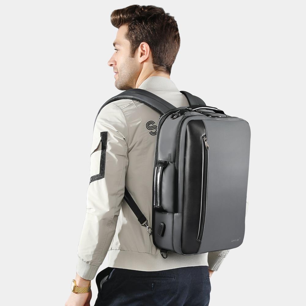 Стильный городской рюкзак Tigernu T-B3639 темно-серый