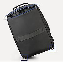 Стильный городской рюкзак Tigernu T-B3639 темно-серый, фото 2