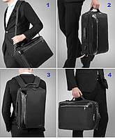 Стильный городской рюкзак Tigernu T-B3639 темно-серый, фото 3