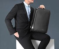 Стильный городской рюкзак Tigernu T-B3639 темно-серый, фото 4