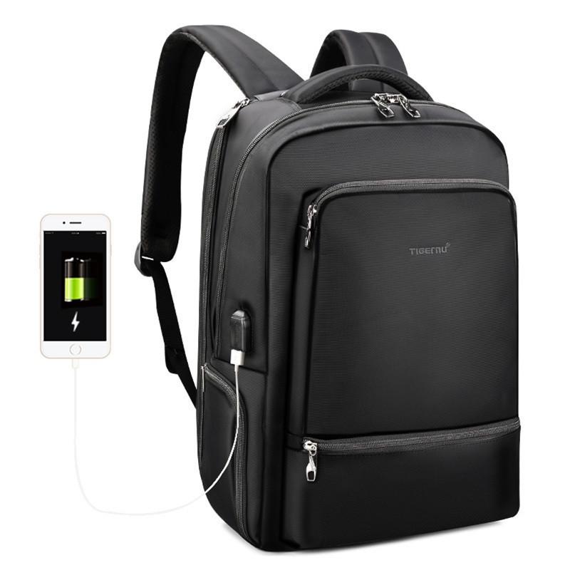 Современный рюкзак Tigernu T-B3585 26 л, черный