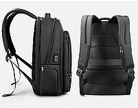 Современный рюкзак Tigernu T-B3585 26 л, черный, фото 3