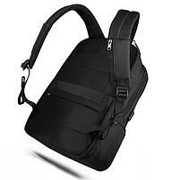 Современный рюкзак Tigernu T-B3585 26 л, черный, фото 4