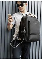 Стильный современный городской рюкзак Tigernu T-B3585 серый, фото 5