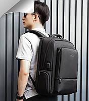 Стильный современный городской рюкзак Tigernu T-B3585 серый, фото 6