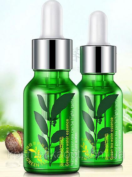Увлажняющая восстанавливающая сыворотка на основе экстракта зеленого чая Rorec GreenTea Water Essence (15мл)