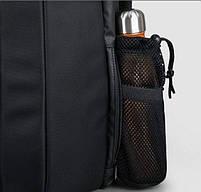 Брендовый водонепроницаемый мужской рюказак для ноутбука Tigernu T-B3599, темно-серый, фото 5