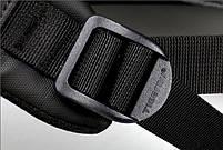 Брендовый водонепроницаемый мужской рюказак для ноутбука Tigernu T-B3599, темно-серый, фото 6