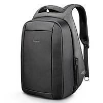 Брендовый водонепроницаемый мужской рюказак для ноутбука Tigernu T-B3599, темно-серый, фото 10