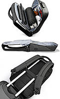 Современный рюкзак Tigernu T-B3611 c USB-портом, серый, фото 6