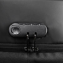 Рюкзак Tigernu T-B3611 c USB-портом, черный, фото 6