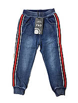 Брюки для мальчика под джинс  оптом, 1-5 лет, F&D арт.S-6038