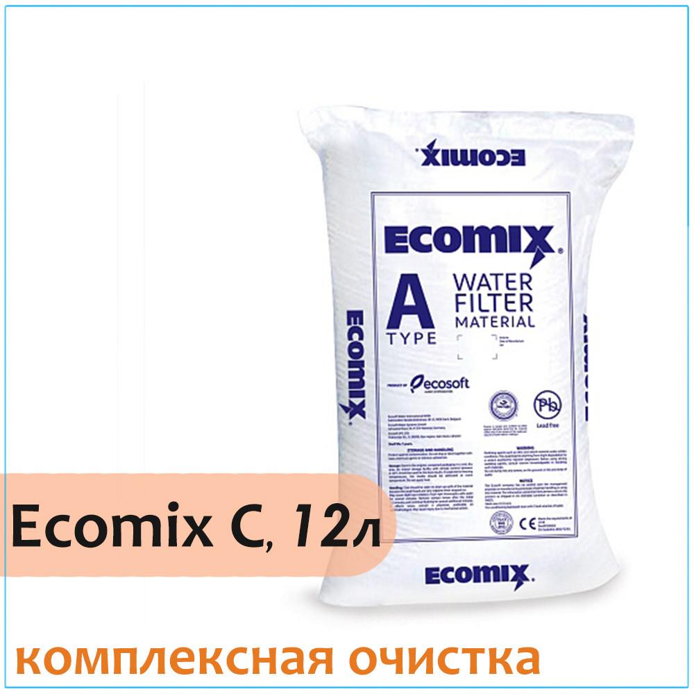 Комплексная ионообменная смола ECOMIX A, 12 литров