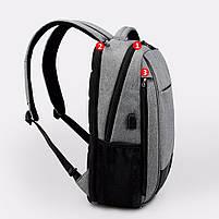 Стильный Рюкзак Tigernu T-B3516, серый, фото 2