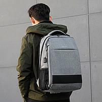 Стильный Рюкзак Tigernu T-B3516, серый, фото 5