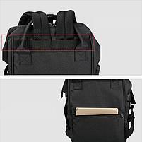 Городской рюкзак для мам Tigernu T-B3358, т.серый, фото 3