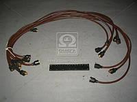 ⭐⭐⭐⭐⭐ Провод зажигания ЗИЛ 130 коричневый 9шт. (пр-во Украина) 130-3706371