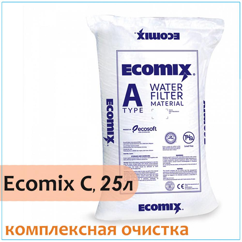 Комплексная ионообменная смола ECOMIX A, 25 литров