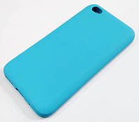 Чохол Silicone Cover для Xiaomi Redmi Go блакитний
