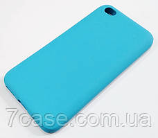 Чехол Silicone Cover для Xiaomi Redmi Go голубой