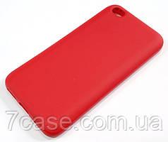 Чехол Silicone Cover для Xiaomi Redmi Go красный