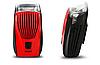 Передний профессиональный вело фонарь GIYO R5 Red , фото 2
