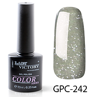 Гель-лак Lady Victory с мерцанием GPC-242, 7.3 мл