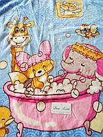 Детские двойные одеяла пледы