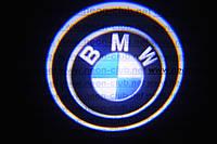Подсветка дверей авто / лазерная проeкция логотипа BMW | БМВ