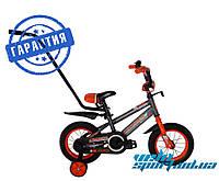 """Детский велосипед Crosser Sports 12"""" c родительской ручкой"""