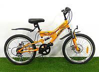 Детский двухподвесный велосипед Azimut Blackmount 20 D, фото 1