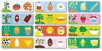 """Пазл-трансформация для малышей """"Что мы едим"""" 36 элементов Apli kids"""