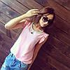 Шифоновая блуза с кулоном