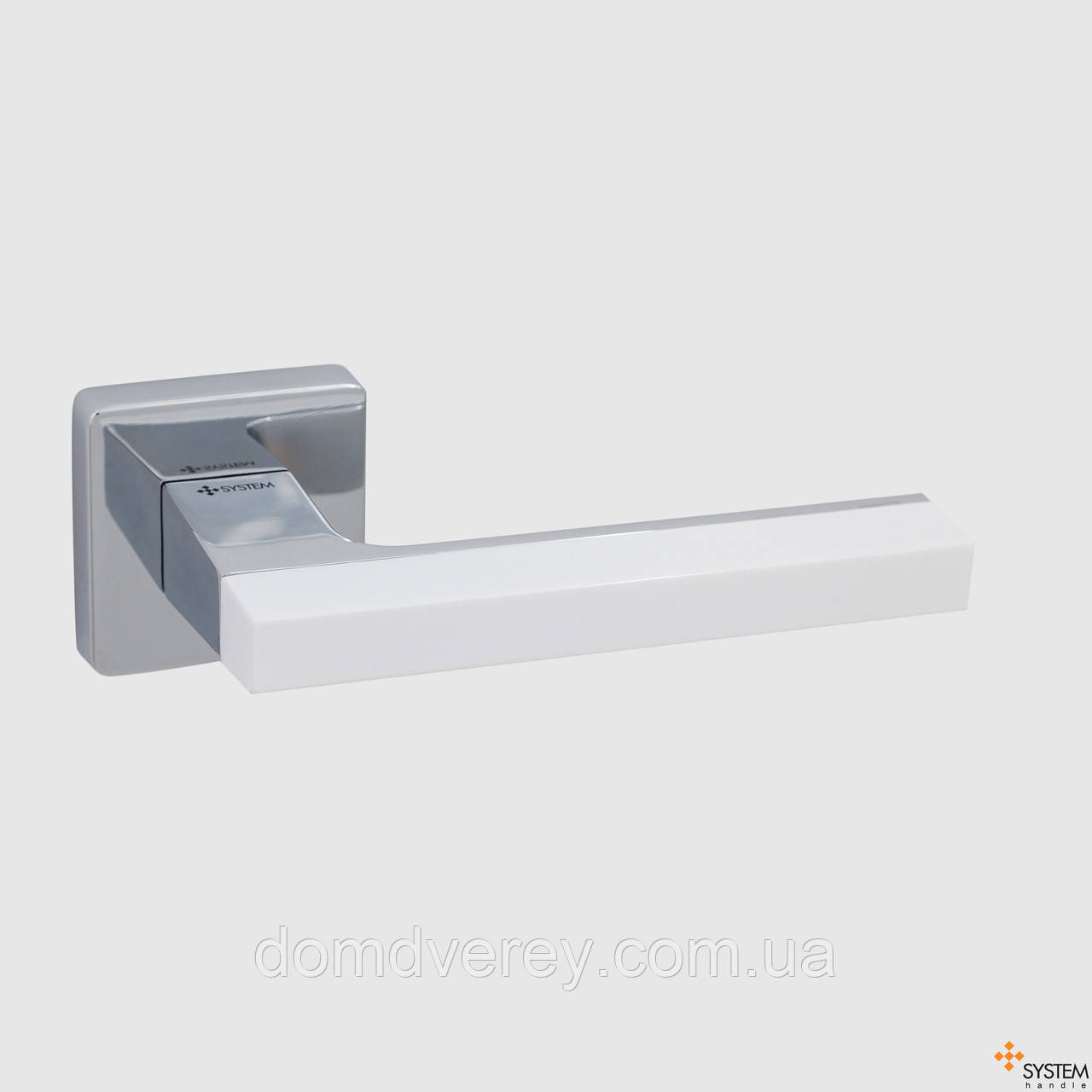 Дверна ручка AZUR HA104 RO11 CR-CR-AL7