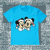 """Детская футболка """"Новогодние Маусы"""", фото 1"""