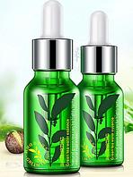 Увлажняющая восстанавливающая сыворотка на основе экстракта зеленого чая Rorec GreenTea Water Essence (15мл), фото 1