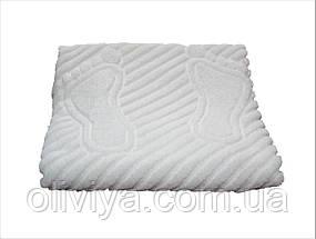 Полотенце/коврик для ног (белый), фото 3