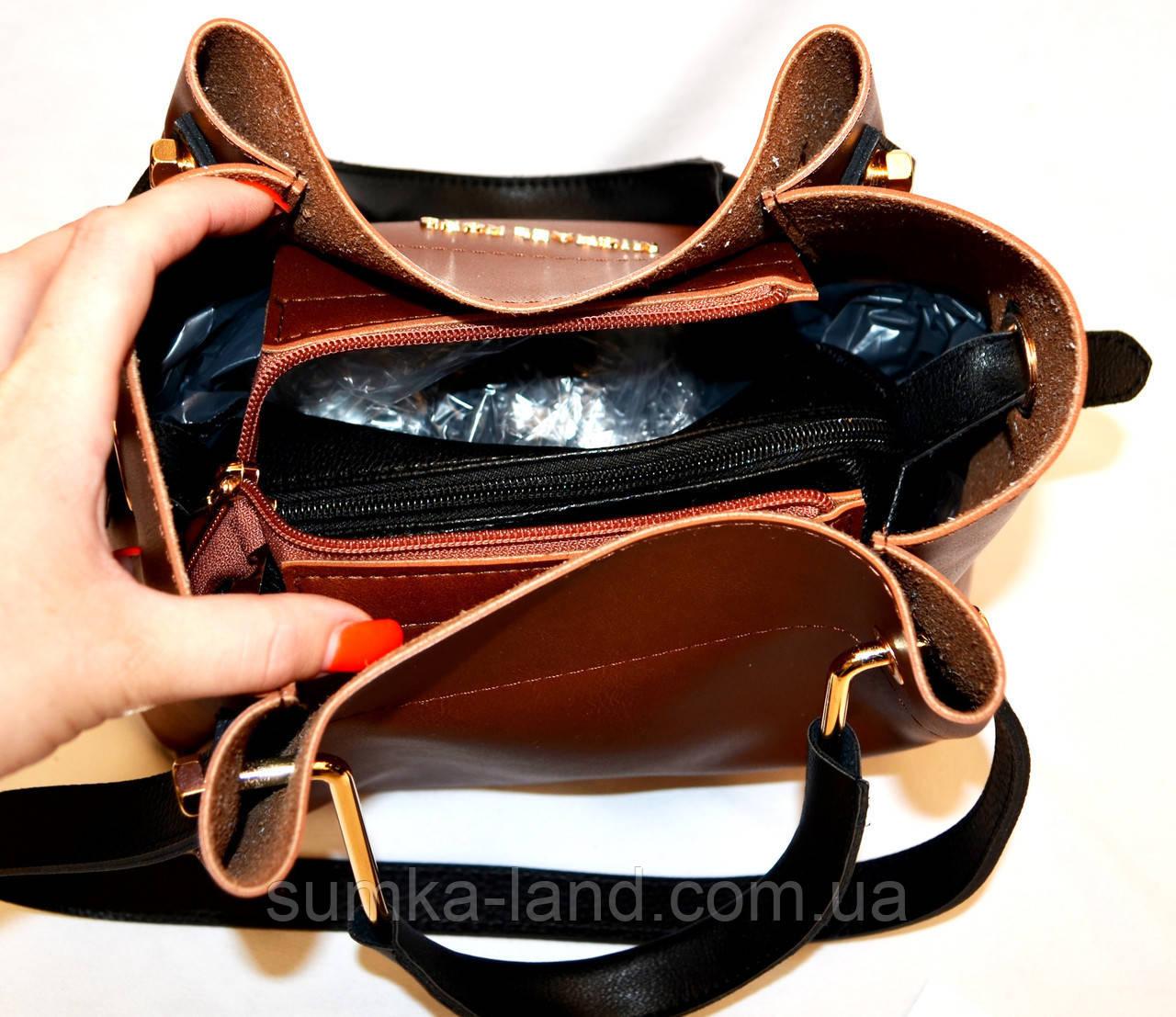 de882b1bba26 ... фото Женская элитная сумка MK серебристая с черными ручками и боками 28* 26 см, фото