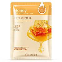 Тканевая маска лица с медом питательная ROREC Honey (30г)