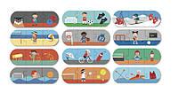 Пазл для малышей «Виды спорта» 36 элементов Apli kids