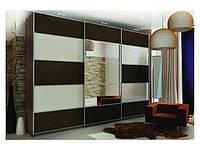 Шкафы-купе любой конфигурации на заказ недорого в Киеве (от 1900грн за пог.м), корпусная мебель под заказ