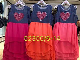 Платье летнее  для девочек оптом, Seagull. размеры 6-14 лет, арт. 52350