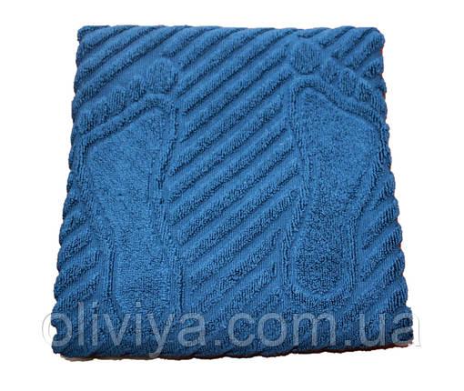 Полотенце/коврик для ног (синий), фото 2