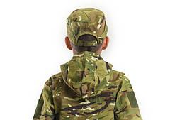 Детский камуфляж комплект Скаут костюм кепка футболка расцветка MTP, фото 3