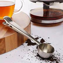 Мерная ложка для кофе с зажимом, фото 3