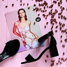 Женские босоножки черного цвета Натуральная замша Возможен отшив в других цветах кожи и замши