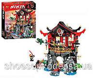 Конструктор Ninja Ниндзя Храм Воскресения: 809 деталей, 7 фигурок, фото 1