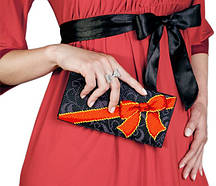 """Набор для вышивки клатчей """"Бант"""" - С 209 клатч"""