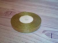 Лента парча,  0,5 cм золото